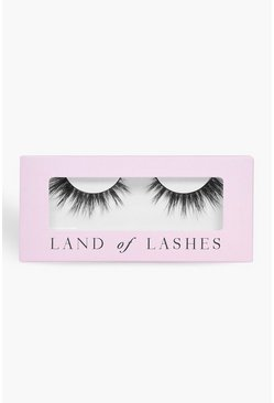 Land Of Lashes Luxury Dramatic Lashes- Allure, Black, Donna