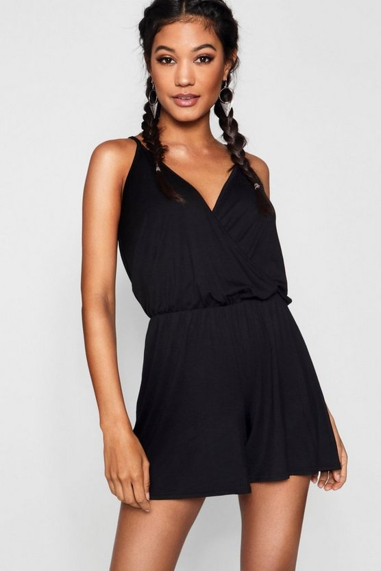 Wrap Over Cami Playsuit
