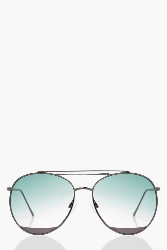 Lara Double Bar Aviator