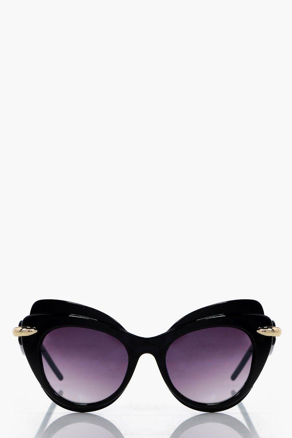 bb2f3ac4491cc Ivy Double Layer Cat Eye Sunglasses