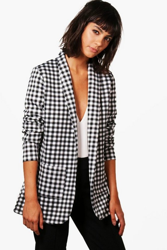 Alex Gingham Blazer