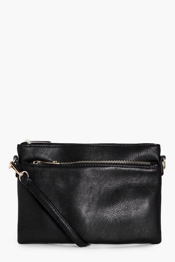 Angel Zip Pocket Cross Body