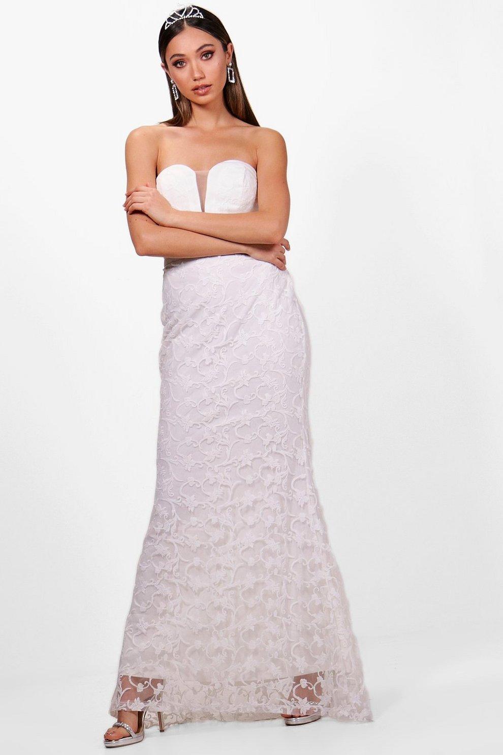 5234a1f0fda Boutique Embroidered Maxi Dress