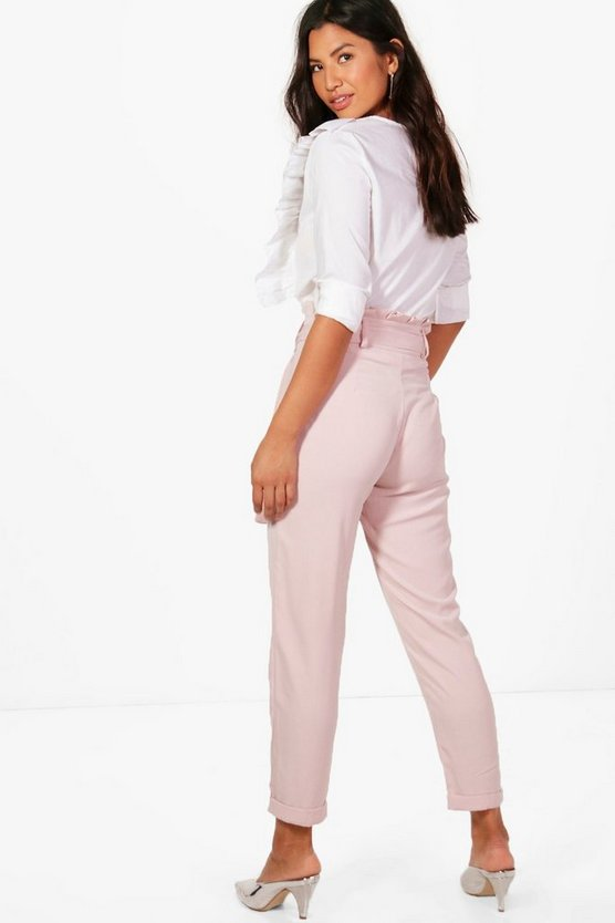 Premium Paperbag Waist Tailored Trouser