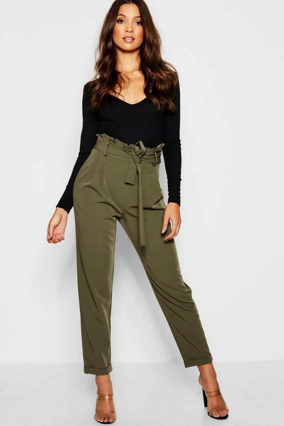 Premium Paperbag Waist Tailored Trouser