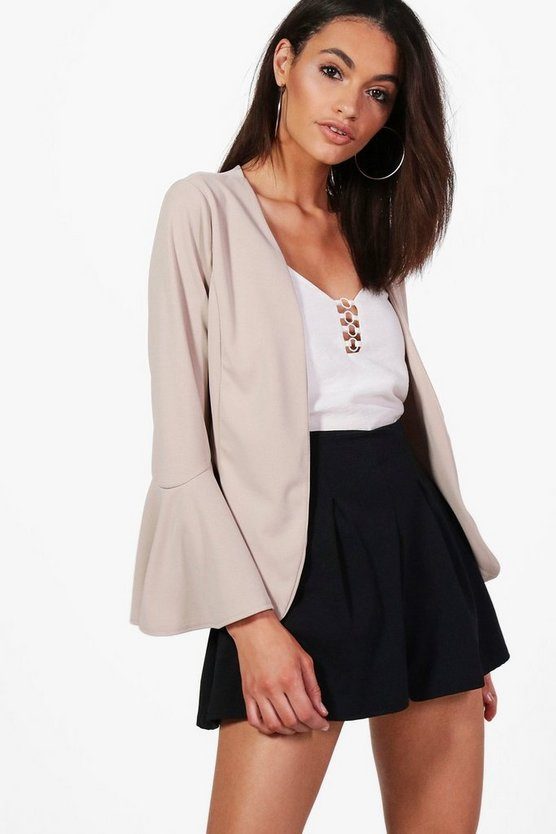 Elizabeth Flare Sleeve Tailored Blazer