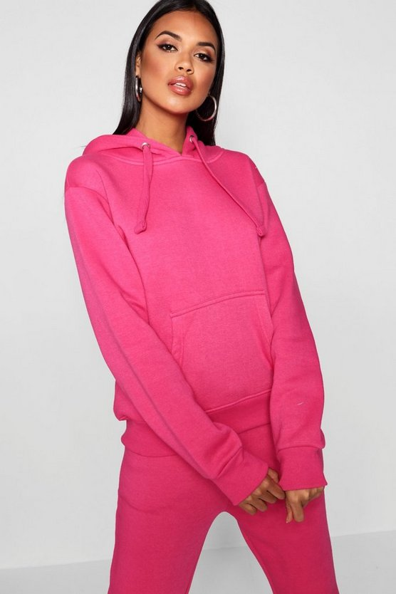 Solid Oversized Hoody