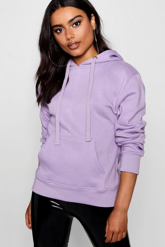Basic Solid Oversized Hoody