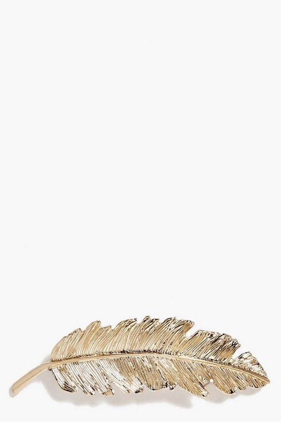 Sofia Feather Hair Slide
