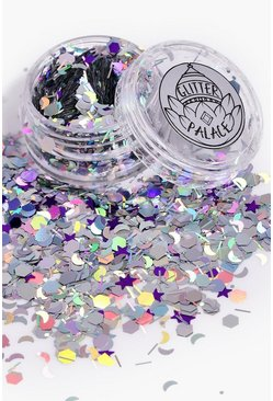 Womens Multi Glitter Palace Luna Glitter Pot
