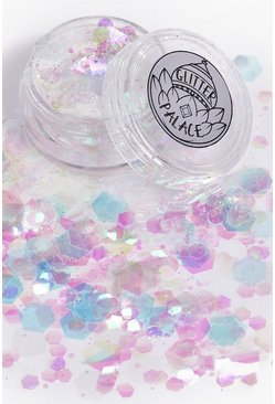 Womens Multi Glitter Palace Anita Glitter Pot