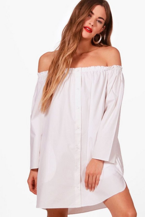 Lily Off The Shoulder Tunic Dress