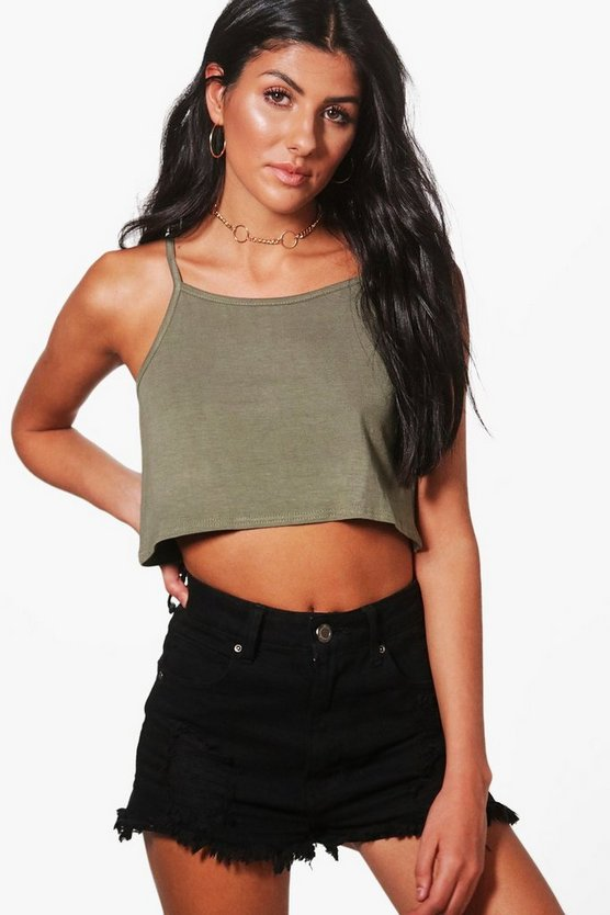 Basic Swing Crop Cami