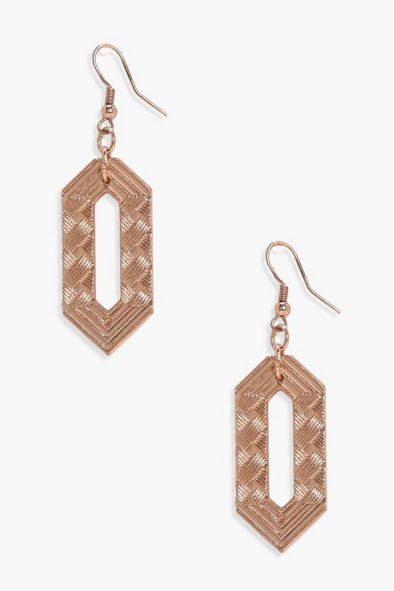 Laura Geo Cut Out Earrings