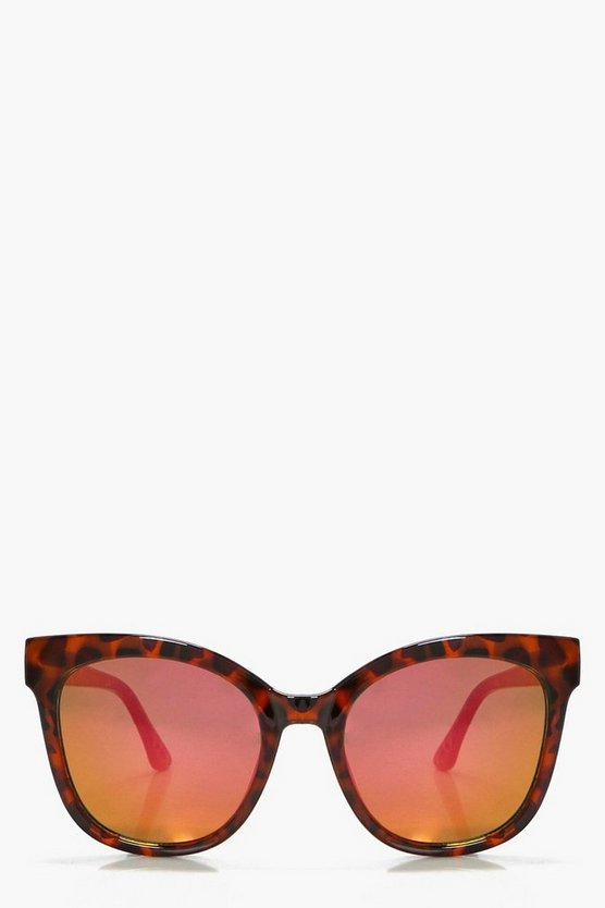 Jodie Purple Fade Lense Oversized Sunglasses