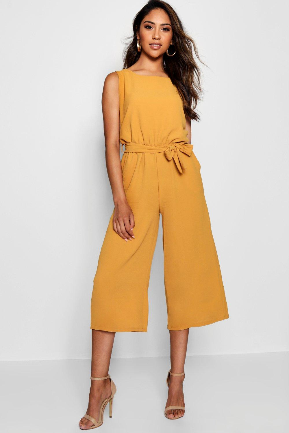 210beadbab8 Culotte Jumpsuit. Hover to zoom