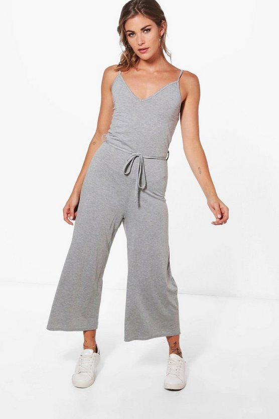 Maddy Printed Culotte Jumpsuit