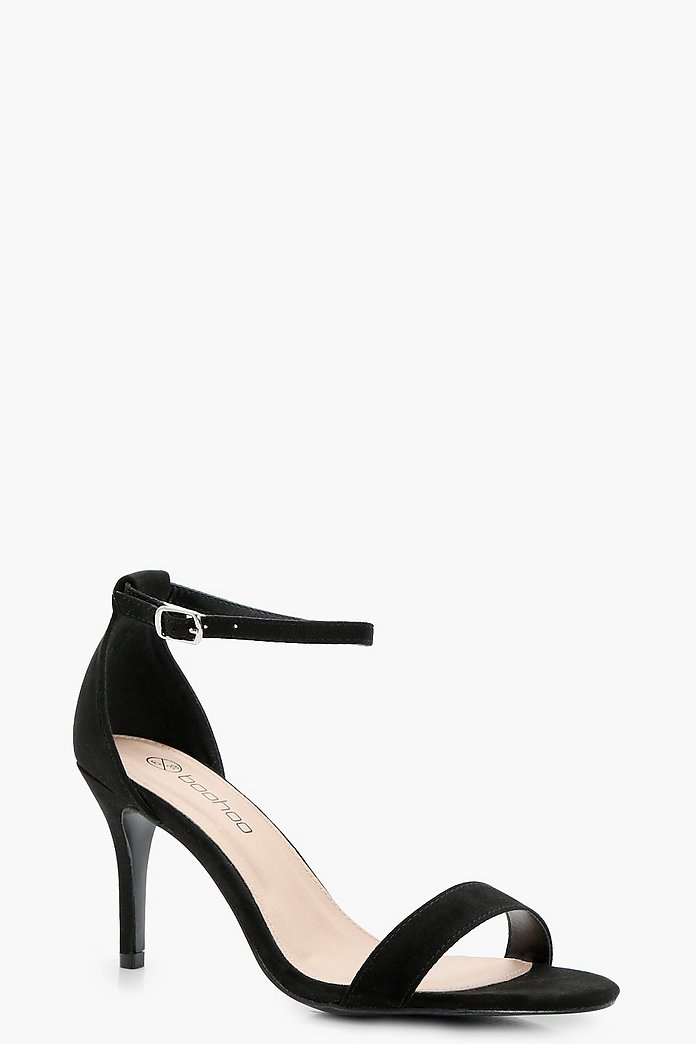 Extra Wide Fit Low Heel Two Parts | boohoo Australia