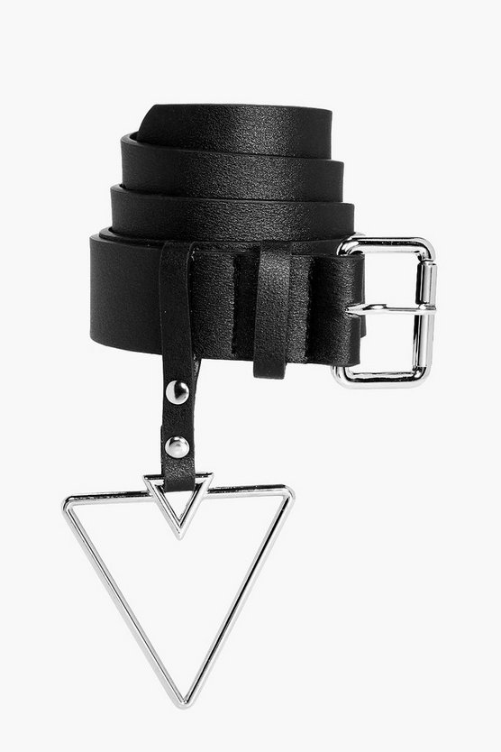 Holly Triangle Buckle Detail Belt