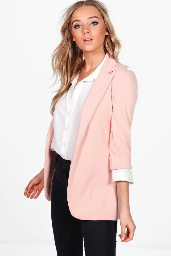 Eloise Tailored Ponte Blazer