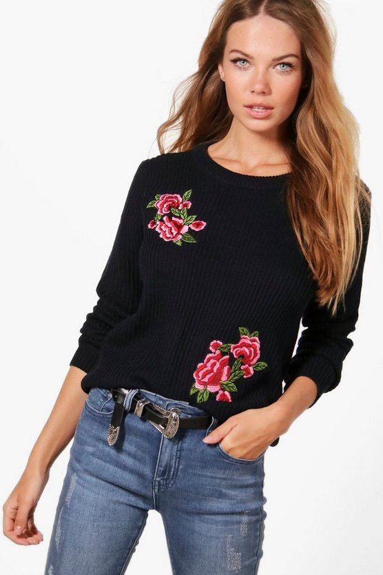 Rosie Embroidered Jumper