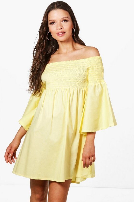 Womens Matilda Off The Shoulder Sun Dress