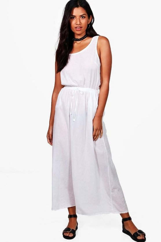 Charly Knot Back Maxi Dress
