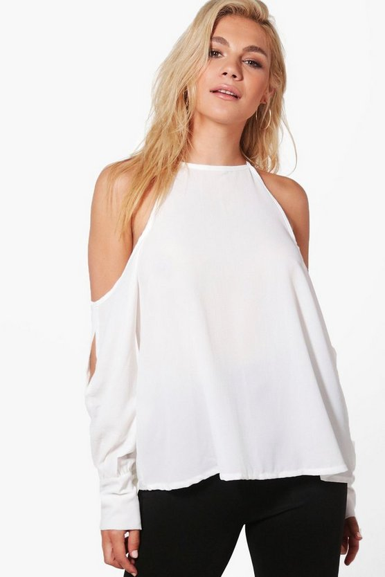 Maisie Cold Shoulder Shirt