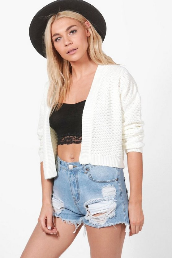Olivia Edge To Edge Crop Cardigan