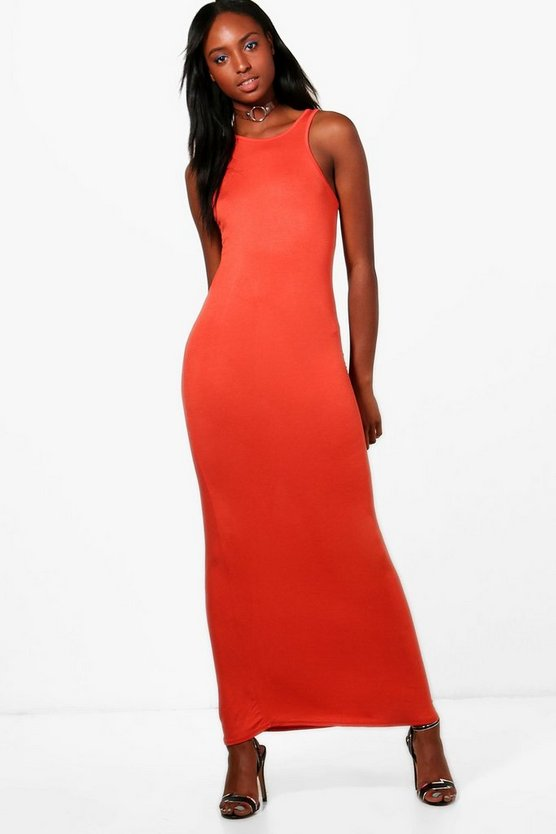 Niamh Racer Front Maxi Dress