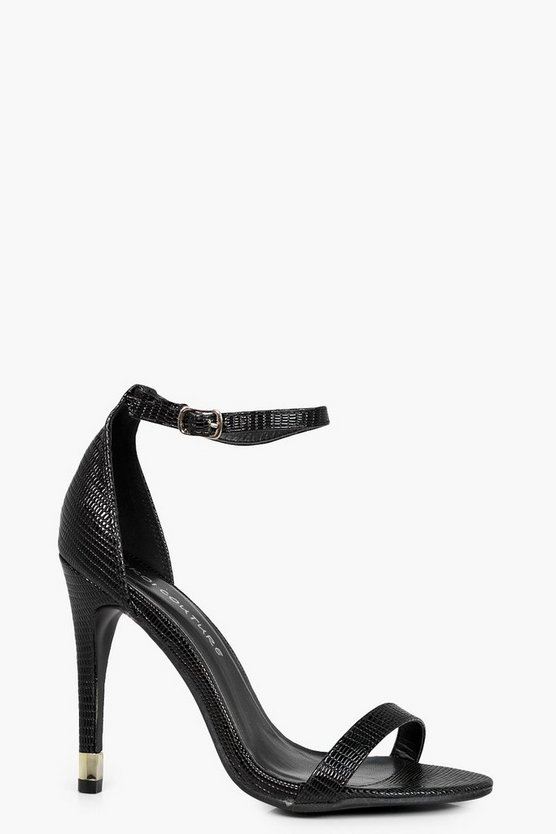 Isabella Two Part Heeled Sandal