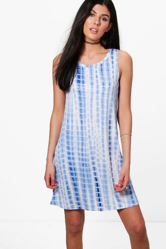 Niamh Tie Dye Swing Dress