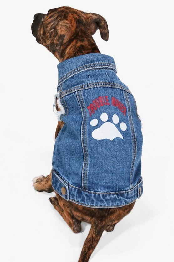 Rex Troublemaker Dog Denim Jacket