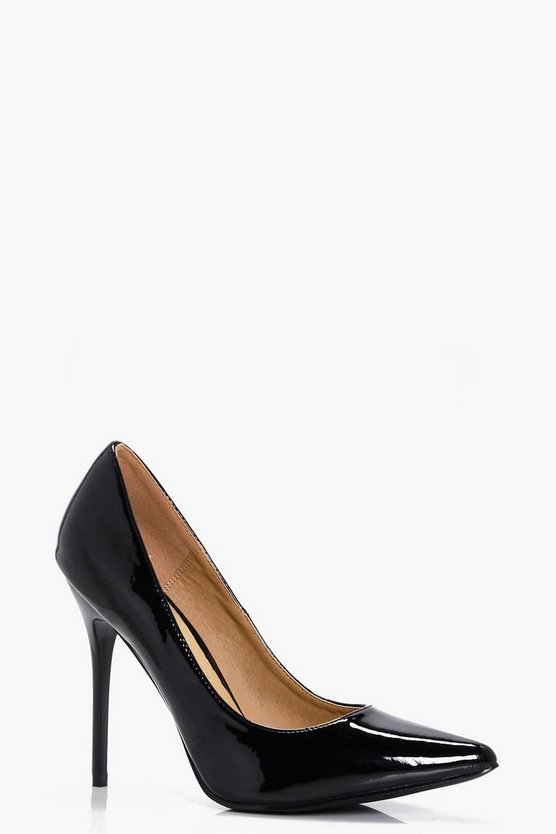 Emily Pointed Toe Stiletto Court