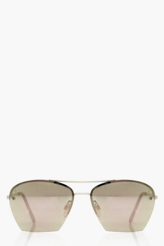 Alice Revo Lense Oversized Sunglasses
