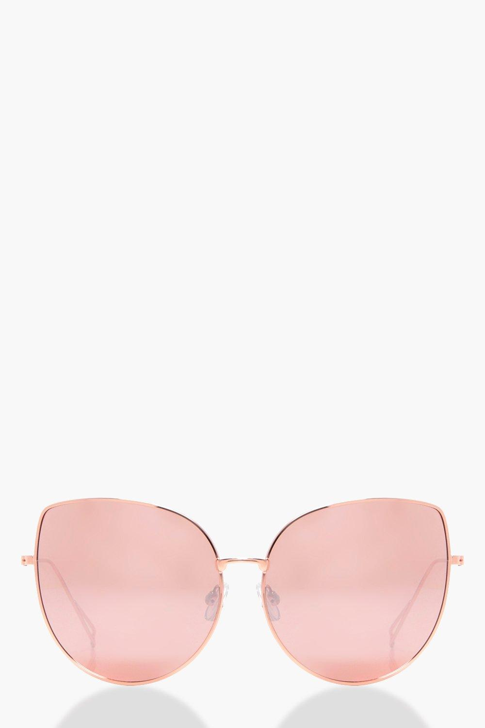 edffb7ca60 Daisy Rose Gold Cat Eye Sunglasses