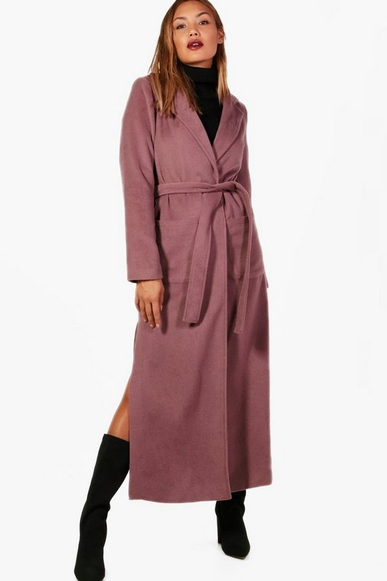 Wrap Maxi Robe Coat