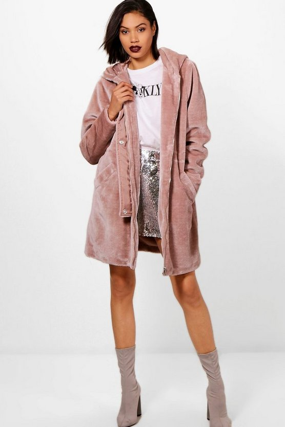 Kelly Faux Fur Parka