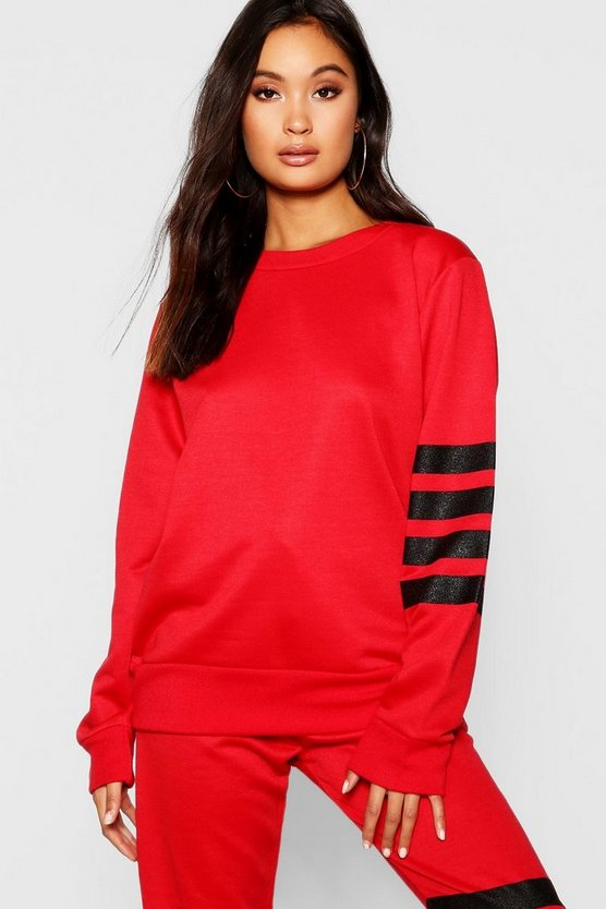 Athleisure Running Sweat Top