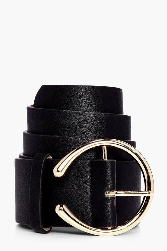 Circle Buckle Boyfriend Belt