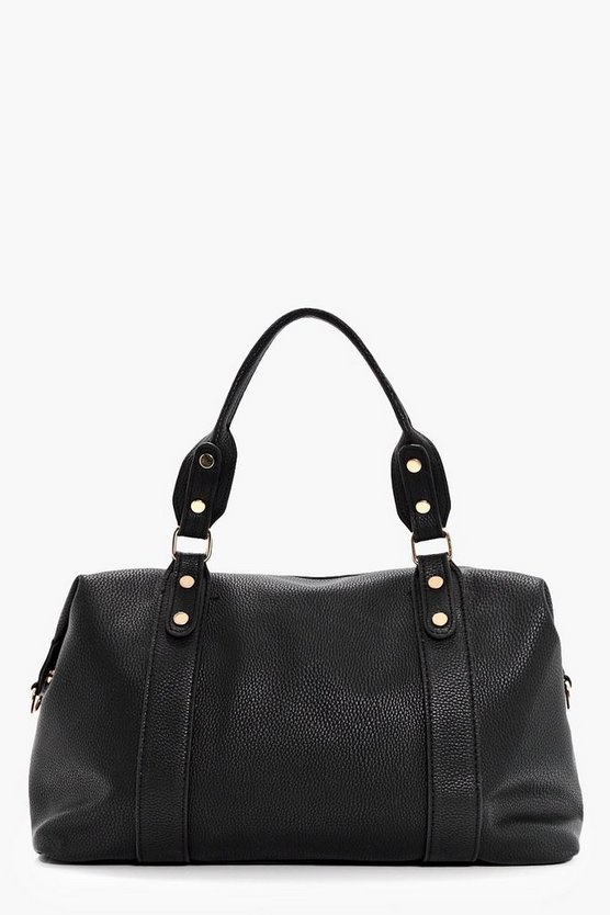 Annie Stud Detail Holdall Day Bag