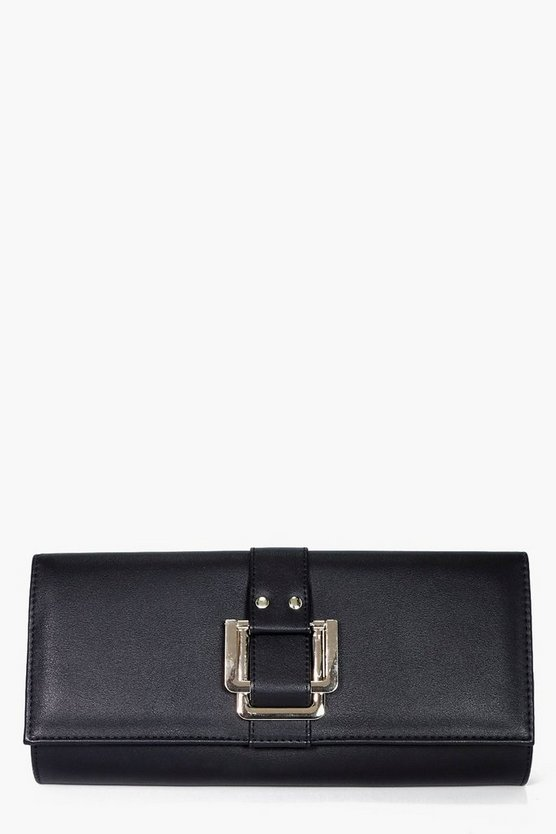Alexis Double Square Fitting Clutch Bag