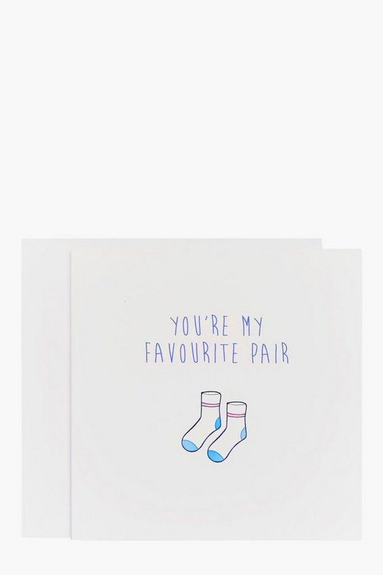 Favourite Pair Wedding Card
