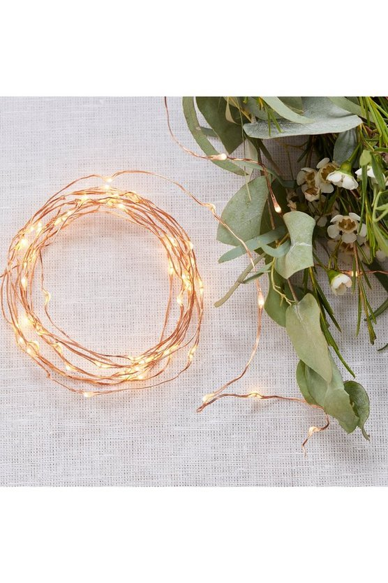 Wedding Rose Gold Fairy Lights