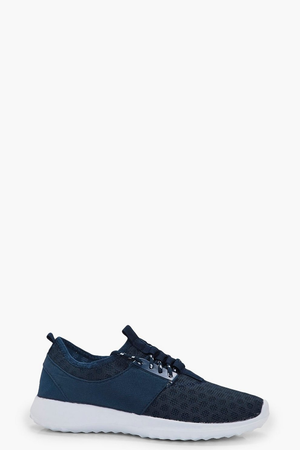935665be62 Womens Navy Holly Spot Mesh Sports Trainer. Hover to zoom