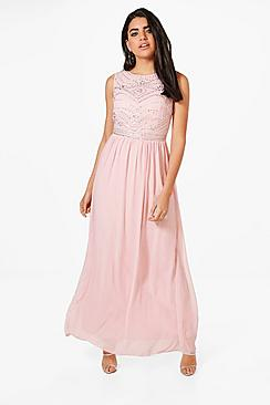 Vintage Evening Dresses and Formal Evening Gowns Boutique Jessie Embellished Maxi Dress $68.00 AT vintagedancer.com