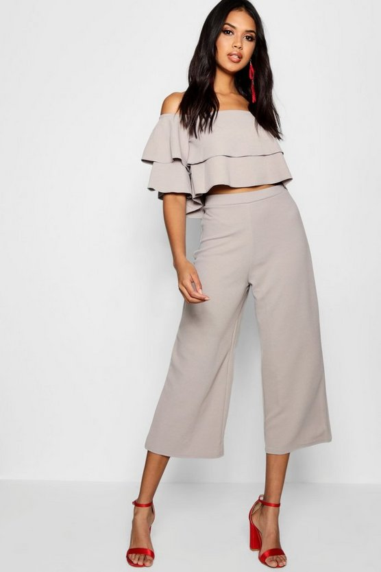 Double Bandeau Top & Culotte Co-Ord Set