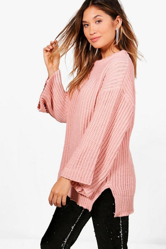 Rebecca Wide Sleeve Chenille Jumper
