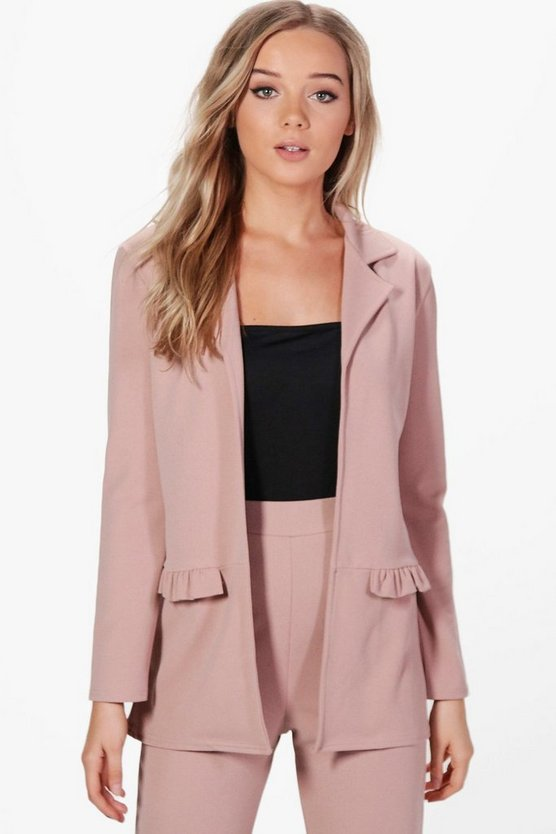 Bella Frill Pocket Blazer