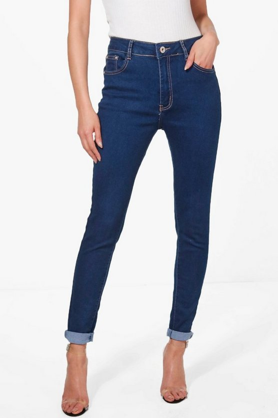 millie jeans skinny indaco a 5 tasche